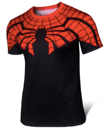 Classic Spider-Man Athletic Short Sleeve