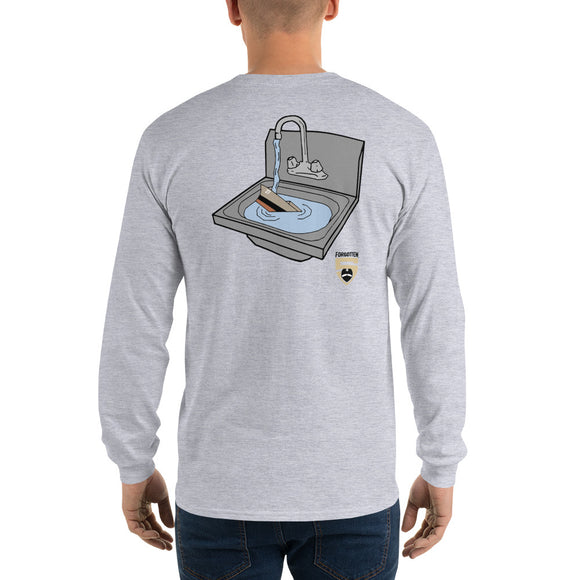 Sink Gold F5 Back Long Sleeve T-Shirt