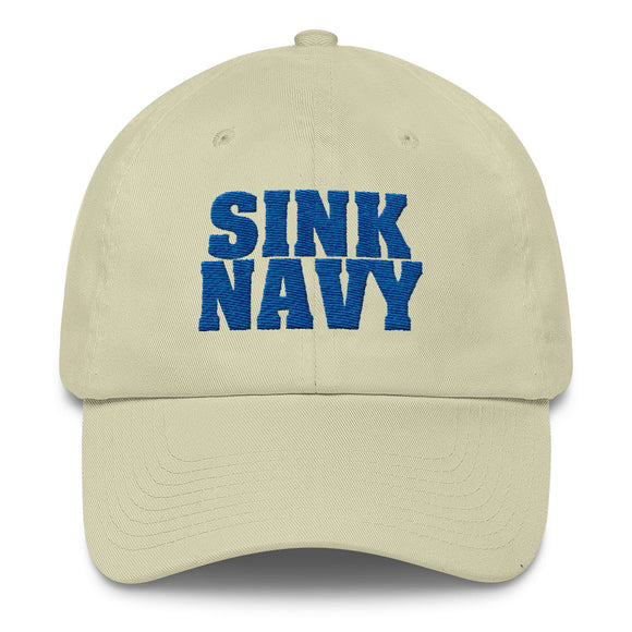 Air Force Sink Navy Cotton Cap