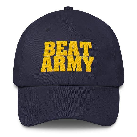 Navy Beat Army Cotton Cap