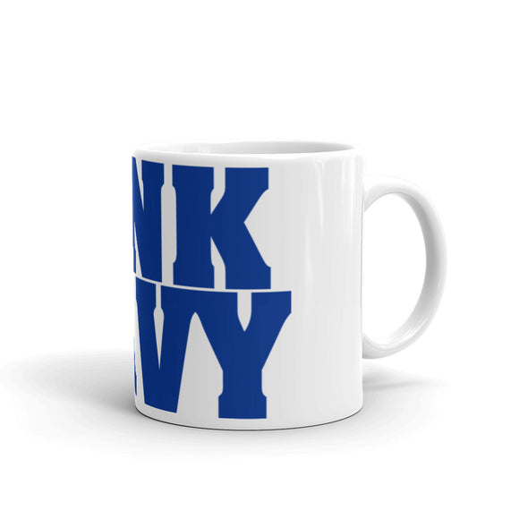 Air Force Sink Navy Mug