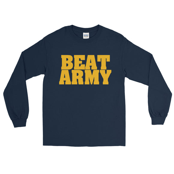 Navy Beat Army Long Sleeve T-Shirt
