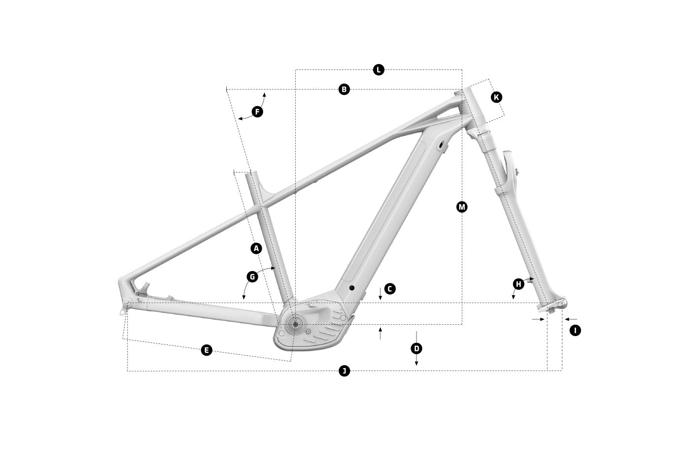 Mondraker Prime + 2021 Bike Geometry