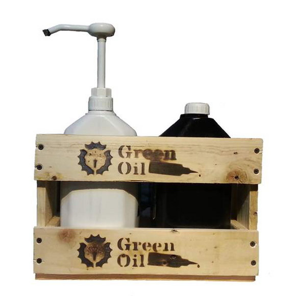 Green Oil - Big Bottle Display - ZEITBIKE
