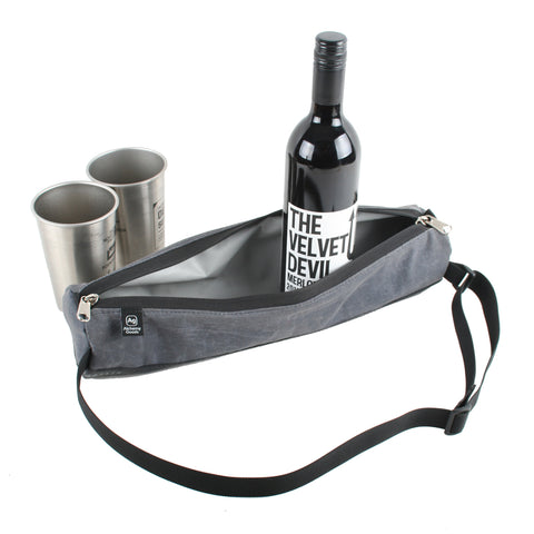 Alchemy Goods - Sunset Hill Bottle Holder - Grey - ZEITBIKE