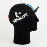 Cycling Cap - Vintage - Brooklyn - Black - ZEITBIKE