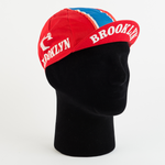 Cycling Cap - Vintage - Brooklyn - Red - ZEITBIKE
