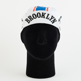 Cycling Cap - Vintage - Brooklyn - White - ZEITBIKE