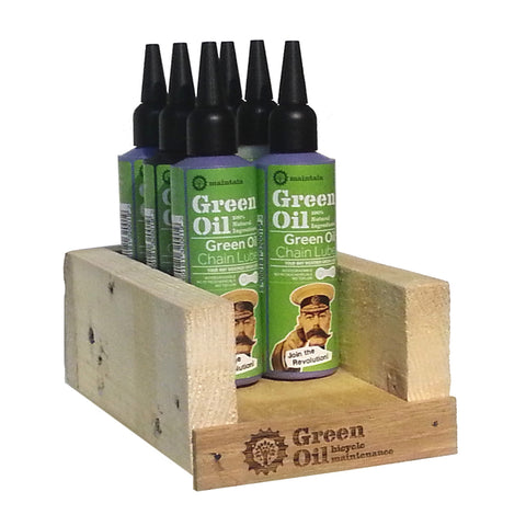 Green Oil - Small Display (no products) - ZEITBIKE