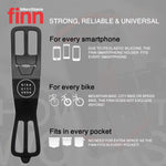 FINN - Universal Bicycle Phone Mount - Black - ZEITBIKE