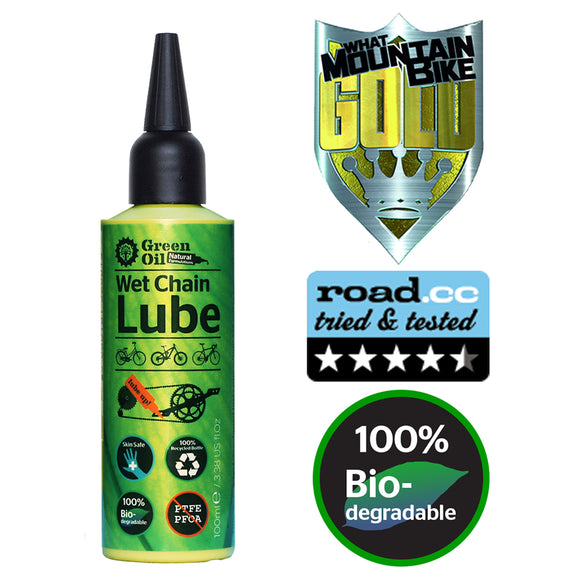 Green Oil - Chain Lube - Wet & Dry Conditions - ZEITBIKE