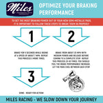 Miles Racing - Disc Pads Semi Metallic - Hope 2 pistion - ZEITBIKE