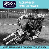 Miles Racing - Disc Pads Semi Metallic - Hayes MX2, MX3, Sole, CX-5 - ZEITBIKE
