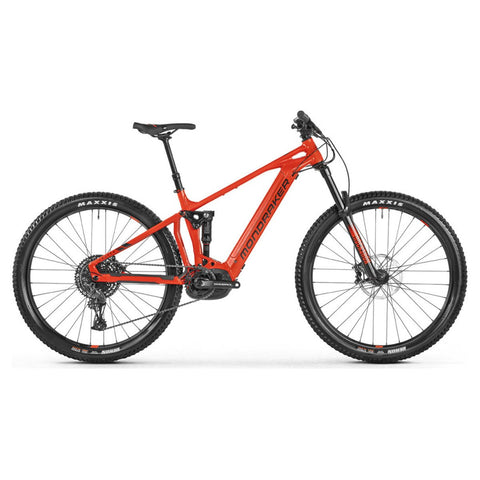 Mondraker - CHASER + Bike in Flame Red (e-MTB ENDURO | 2021) - ZEITBIKE