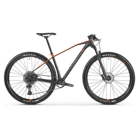 Mondraker - CHRONO CARBON  Bike in Carbon / Orange (XC PRO | 2021) - ZEITBIKE