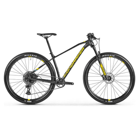Mondraker - CHRONO R Bike in Black / Yellow (XC PRO | 2021) - ZEITBIKE