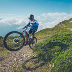 Mondraker - CRAFTY CARBON RR 29 Bike in Blue / White (e-MTB ENDURO | 2021) - ZEITBIKE