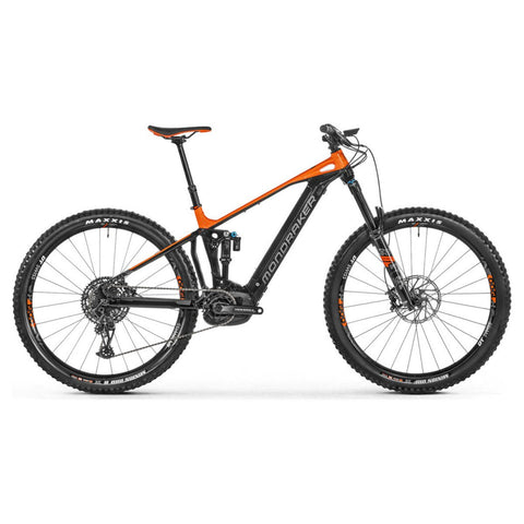 Mondraker - CRAFTY R 29 Bike in Black / Orange (e-MTB ENDURO | 2021) - ZEITBIKE