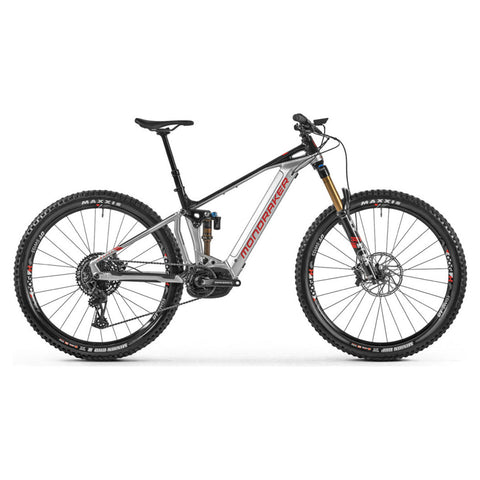Mondraker - CRAFTY RR 29 Bike in Silver (e-MTB ENDURO | 2021) - ZEITBIKE