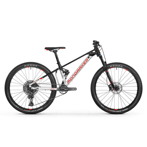Mondraker - FACTOR 26 Bike in Silver / Black (KIDS | 2021) - ZEITBIKE