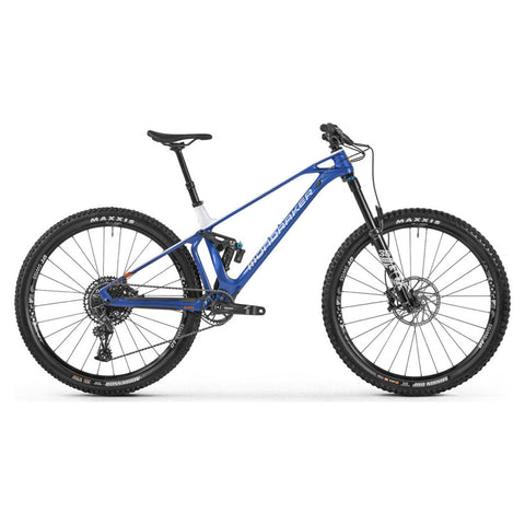 Mondraker - FOXY CARBON R 29 Bike in Blue / White (ENDURO / AM | 2021) - ZEITBIKE