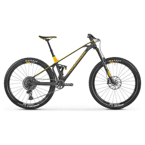 Mondraker - FOXY CARBON XR 29 Bike in Carbon / Yellow (ENDURO | 2021) - ZEITBIKE