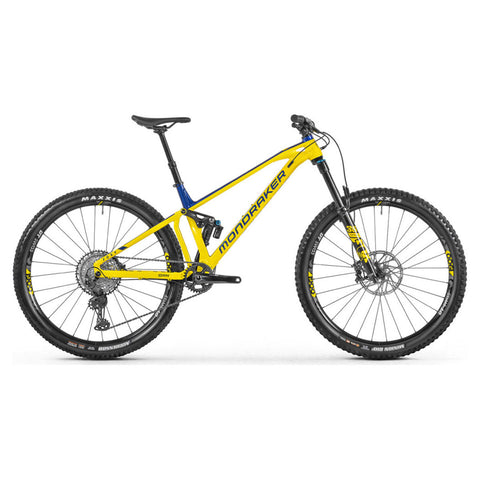 Mondraker - FOXY R  Bike in Yellow / Blue (ENDURO | 2021) - ZEITBIKE