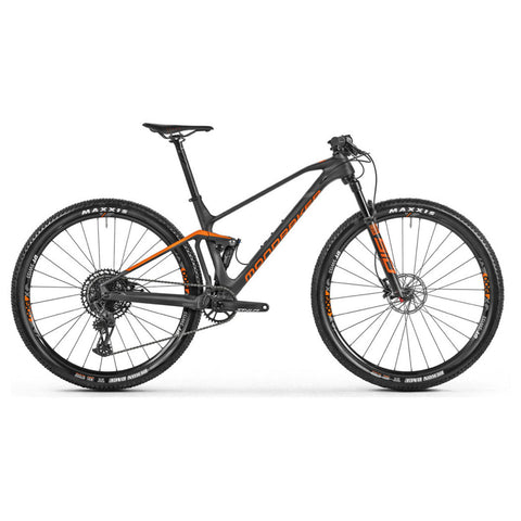 Mondraker - F-PODIUM CARBON  Bike in Carbon / Orange (XC RACE | 2021) - ZEITBIKE