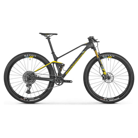 Mondraker - F-PODIUM CARBON R Bike in Carbon / Yellow (XC RACE | 2021) - ZEITBIKE