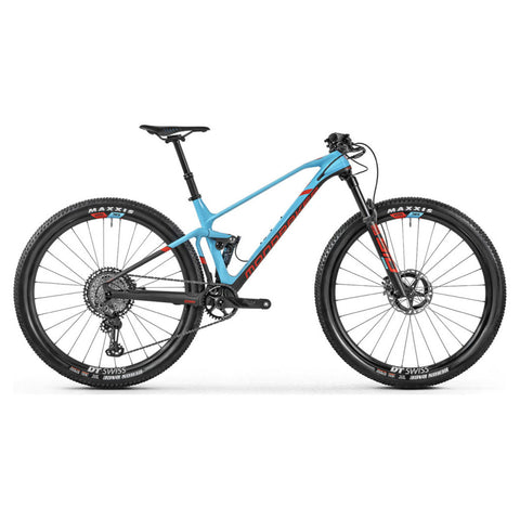 Mondraker - F-PODIUM CARBON DC RR Bike in Carbon / Blue (XC RACE | 2021) - ZEITBIKE