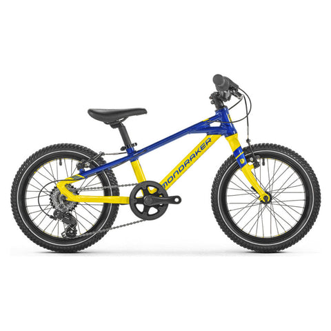 Mondraker - LEADER 16 Bike in Yellow / Blue (KIDS | 2021) - ZEITBIKE