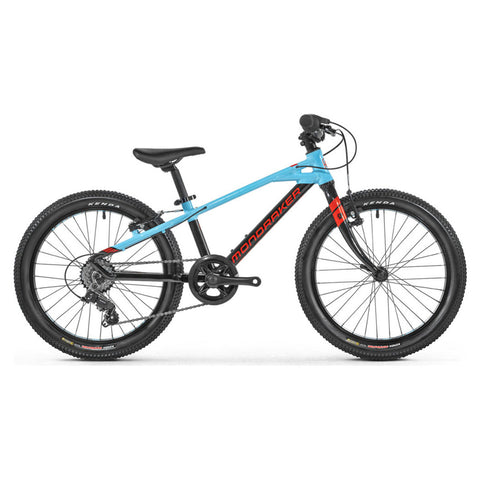 Mondraker - LEADER 20 Bike in Black / Light Blue (KIDS | 2021) - ZEITBIKE
