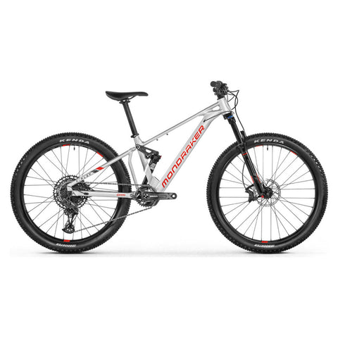 Mondraker - F Play 26 Bike in Silver (e-KIDS | 2021) - ZEITBIKE