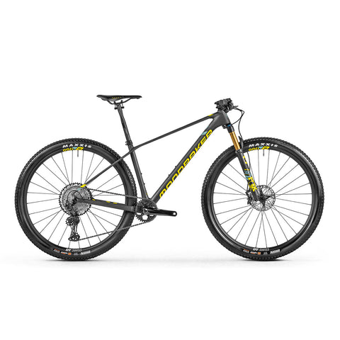 Mondraker - PODIUM CARBON R Bike in Carbon / Yellow (XC RACE | 2021) - ZEITBIKE