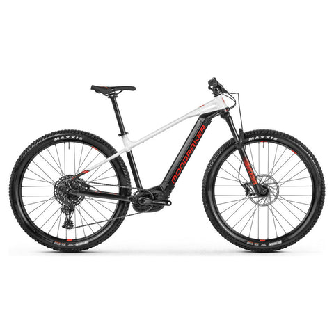 Mondraker - PRIME + Bike in Black / White (e-MTB TRAIL | 2021) - ZEITBIKE