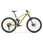 Mondraker - SUPERFOXY CARBON R  Bike in Yellow / Blue (SUPER ENDURO | 2021) - ZEITBIKE