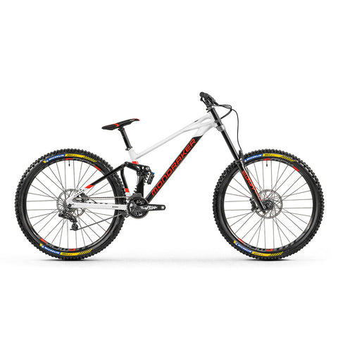 Mondraker - SUMMUM 29 Bike in Black/White/Red (DOWNHILL | 2021) - ZEITBIKE
