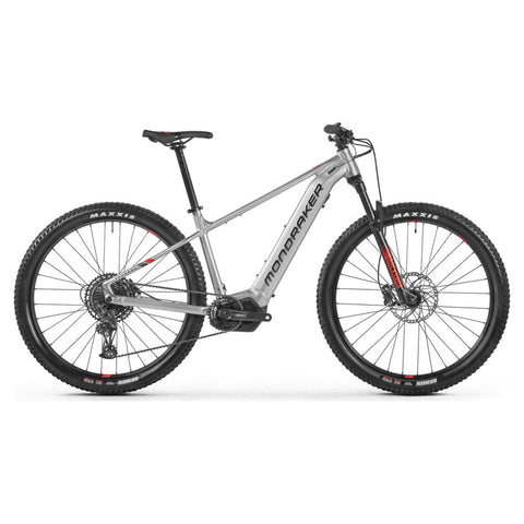 Mondraker - THUNDRA + Bike in Silver (e-MTB TRAIL | 2021) - ZEITBIKE