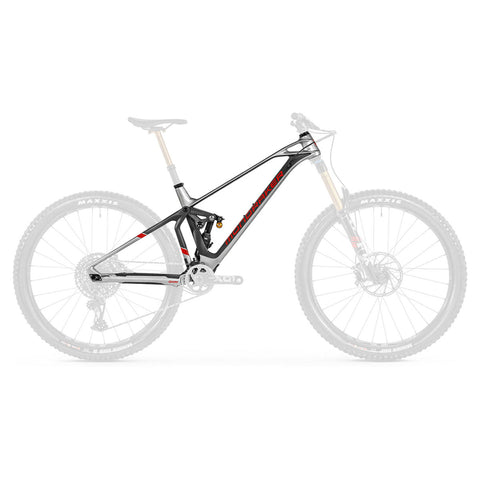 Mondraker - SUPERFOXY CARBON RR Frame Kit in Silver (FRAME KIT | 2021) - ZEITBIKE