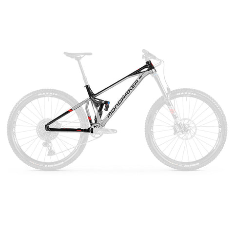 Mondraker - SUPERFOXY R Frame Kit in Silver (FRAME KIT | 2021) - ZEITBIKE