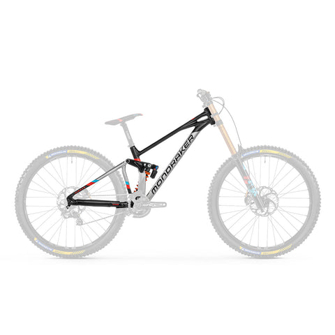 Mondraker - SUMMUM RR 29 Frame Kit in Silver/Black/Red (FRAME KIT | 2021) - ZEITBIKE