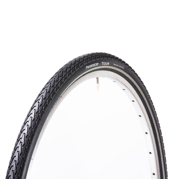 Panaracer - Tour - Reflective Tape (City / Road / Touring) Bicycle Wire Bead Tire - ZEITBIKE