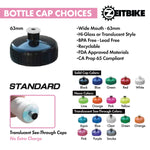 ZEITBIKE - Custom Bottles - 21 Oz. EZ-Squeeze Bike Bottles With Your Business Logo (Starting at 150 pcs)