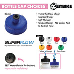 ZEITBIKE - Custom Bottles - 25 Oz. EZ-Squeeze Bike Bottles With Your Business Logo  (Starting at 150 pcs)