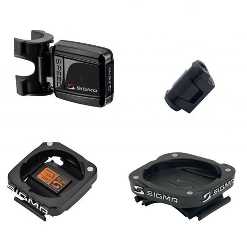 SIGMA Accessories (Computers) - Speed transmitter STS complete Kit for Bike 2 - ZEITBIKE