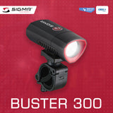 SIGMA Light - BUSTER 300, Power Light w/ Optional Nugget II Flash - ZEITBIKE