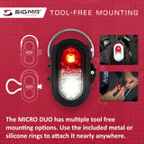 SIGMA Light - MICRO DUO, Safety Light - ZEITBIKE