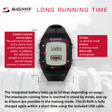 SIGMA Sports Watch - iD.RUN HR, Running w/ Heart Rate - ZEITBIKE