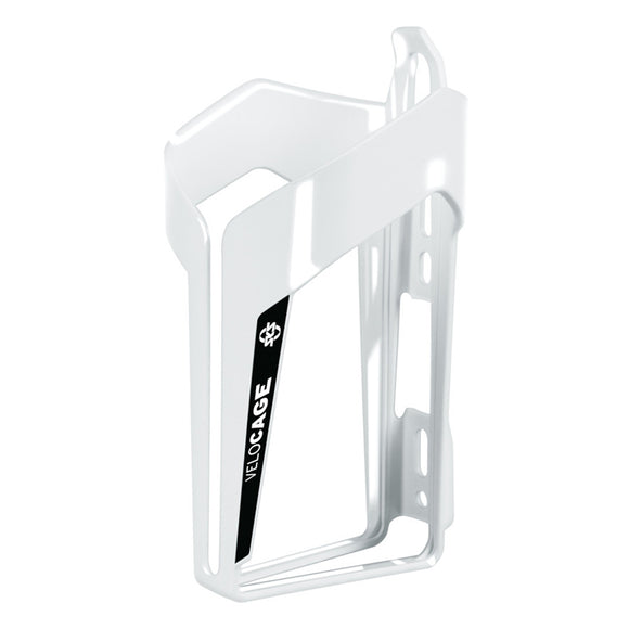 SKS - Velocage - Bicycle Drinking Bottle Cage - Glossy White and Black - ZEITBIKE