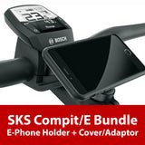 SKS - Compit/E Bundle (E-Phone Holder w/ Phone Cover) - ZEITBIKE